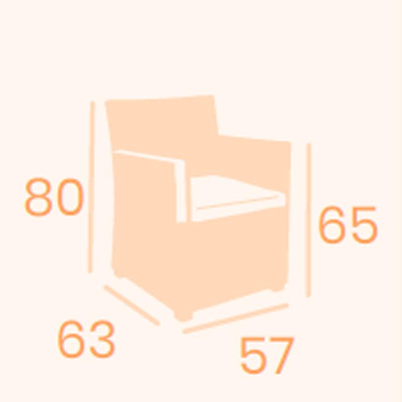 Dimensiones sillón Tiempo REYMA