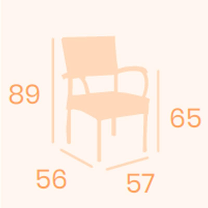 Dimensiones sillón Turín REYMA
