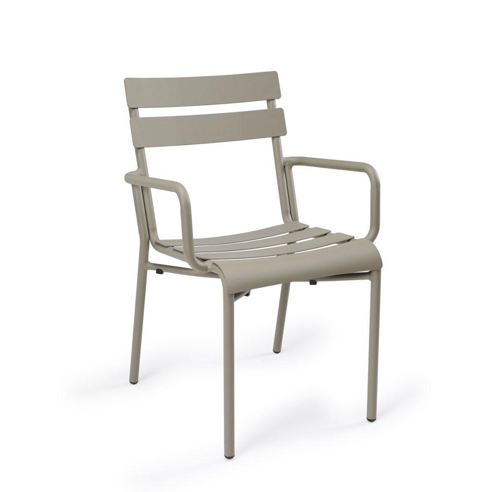 sillón versalles aluminio