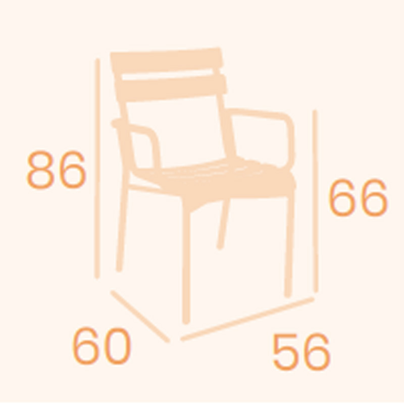 Dimensions fauteuil Versalles REYMA