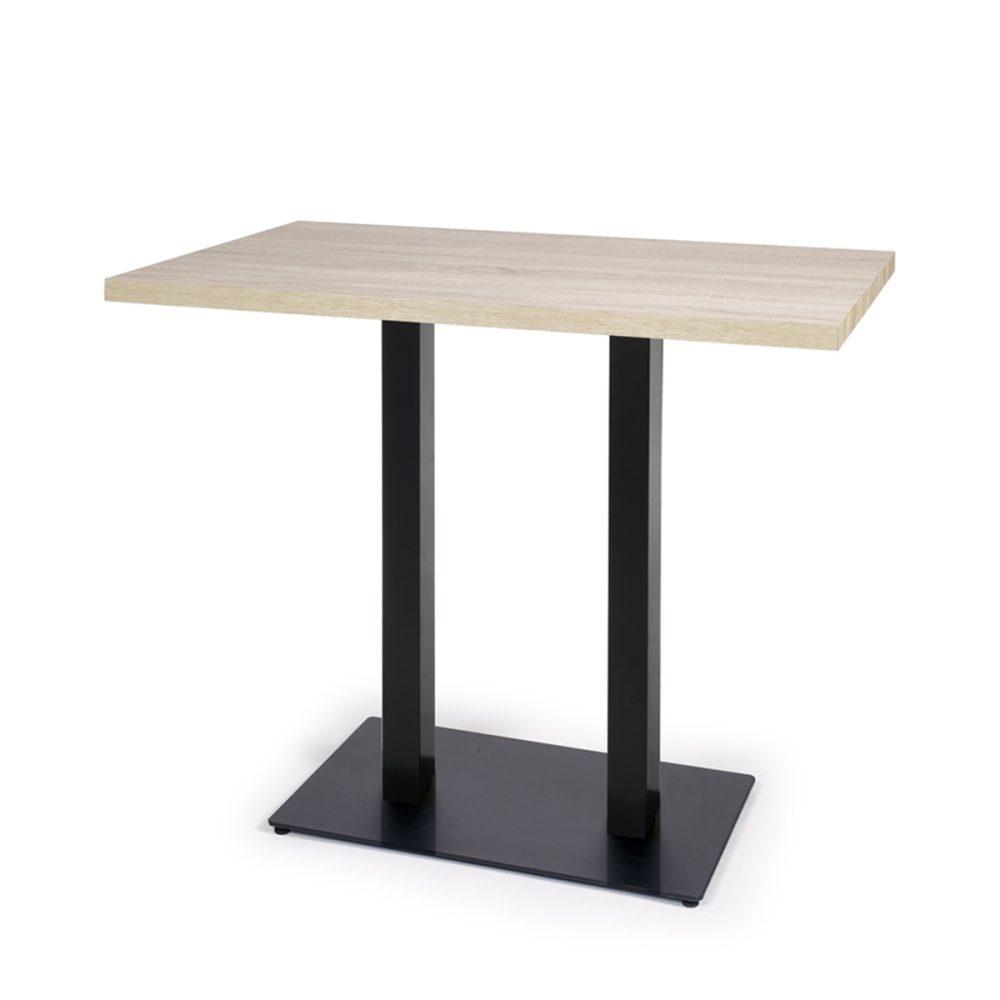 mesa baviera alta rectangular