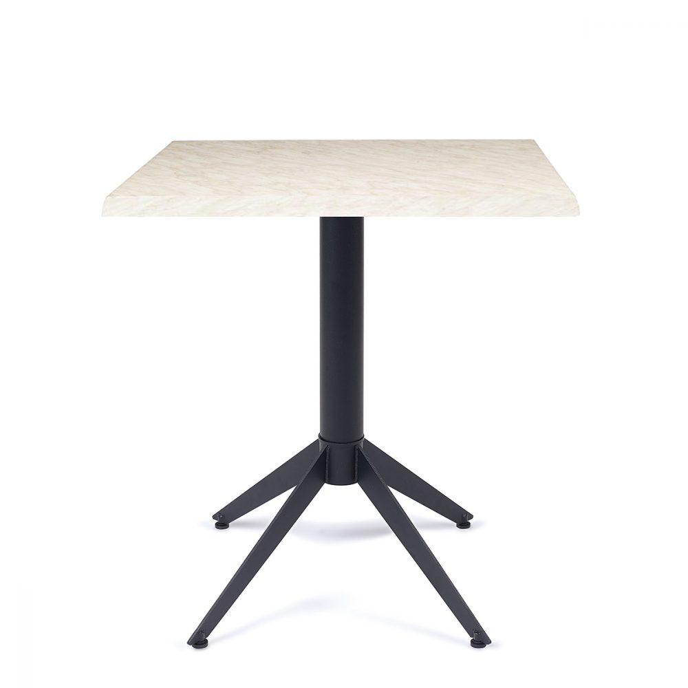 mesa milano con tablero marmol