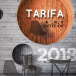 Tarifa Mobiliario para hostelería 2018