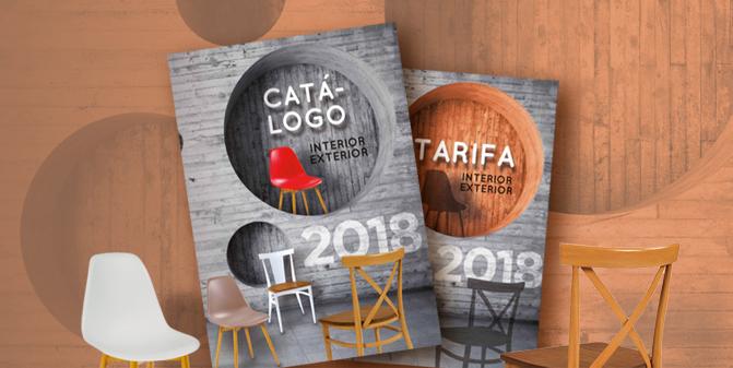 nuevo catálogo y tarifa mobiliario para hostelería 2018