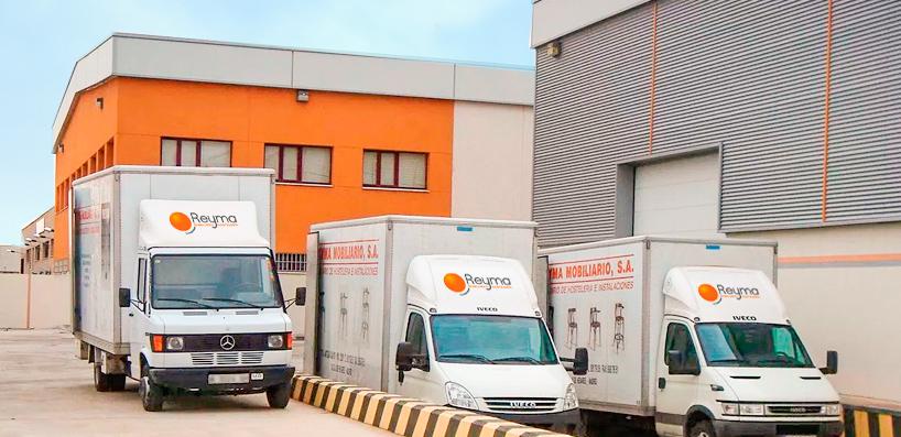 Reyma Mobiliario hostelería import export contract