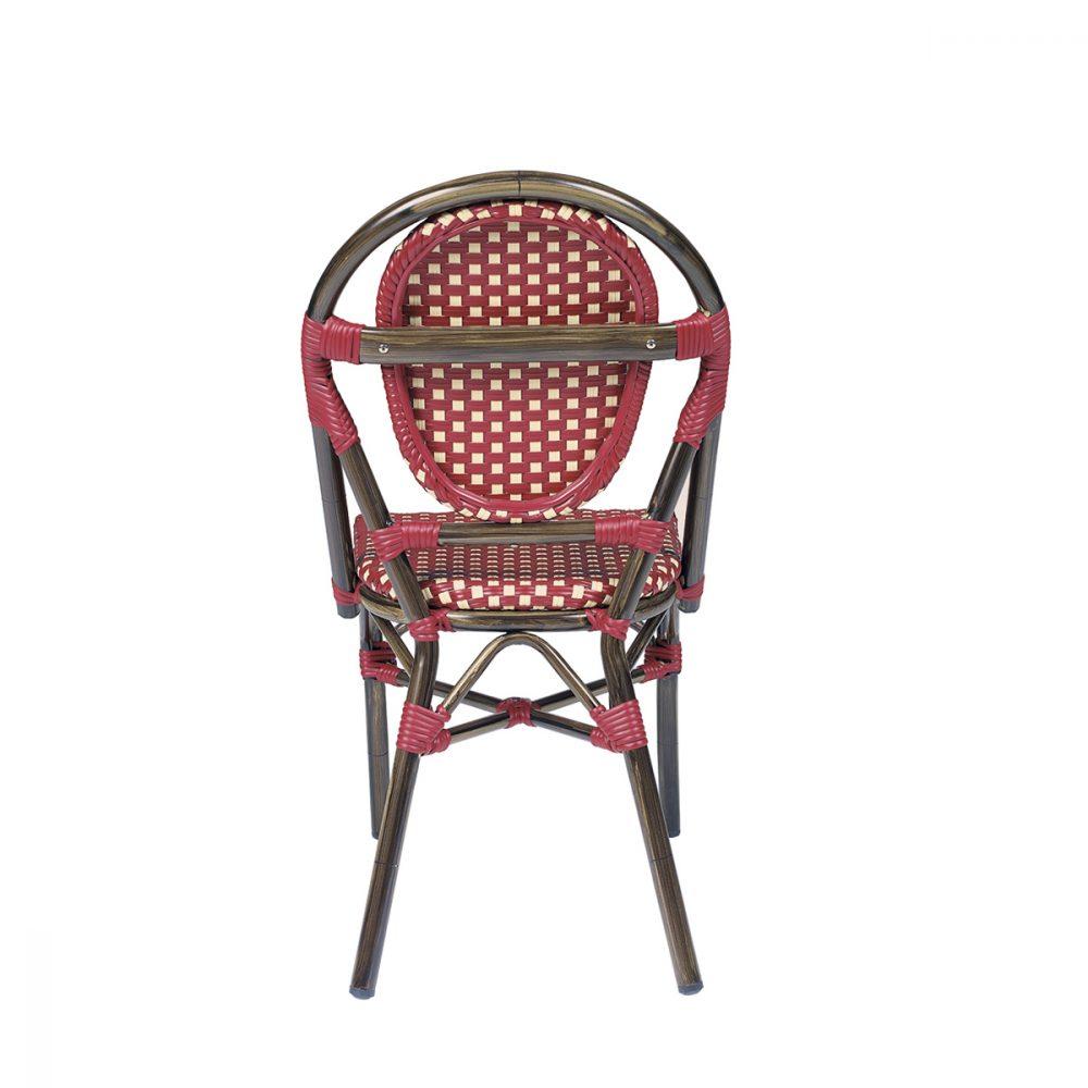silla charlotte parte trasera