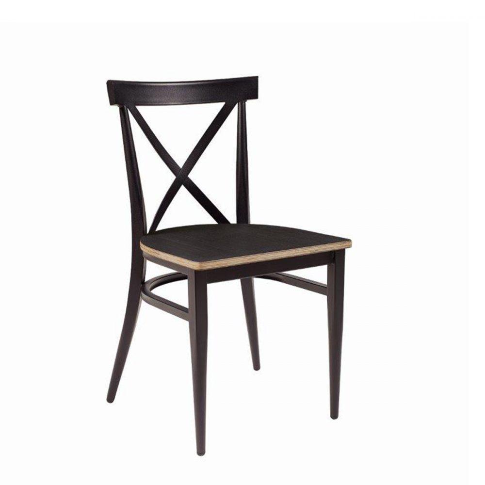 silla orlando con asiento ebony