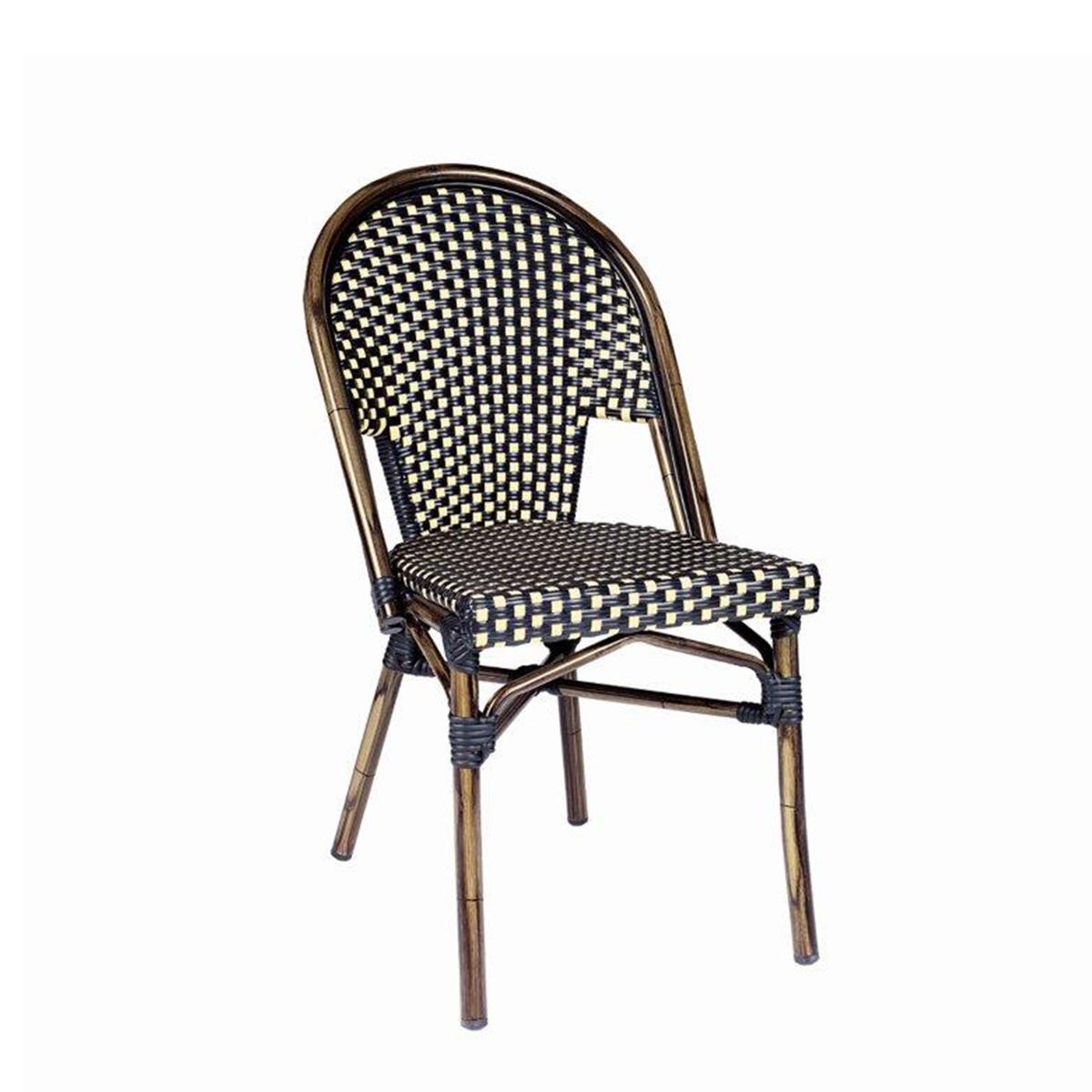 silla tivoli negro crema