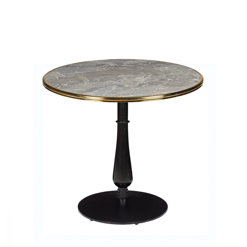 mesa 4550 columna fundicion torneada tablero sicilia aro laton