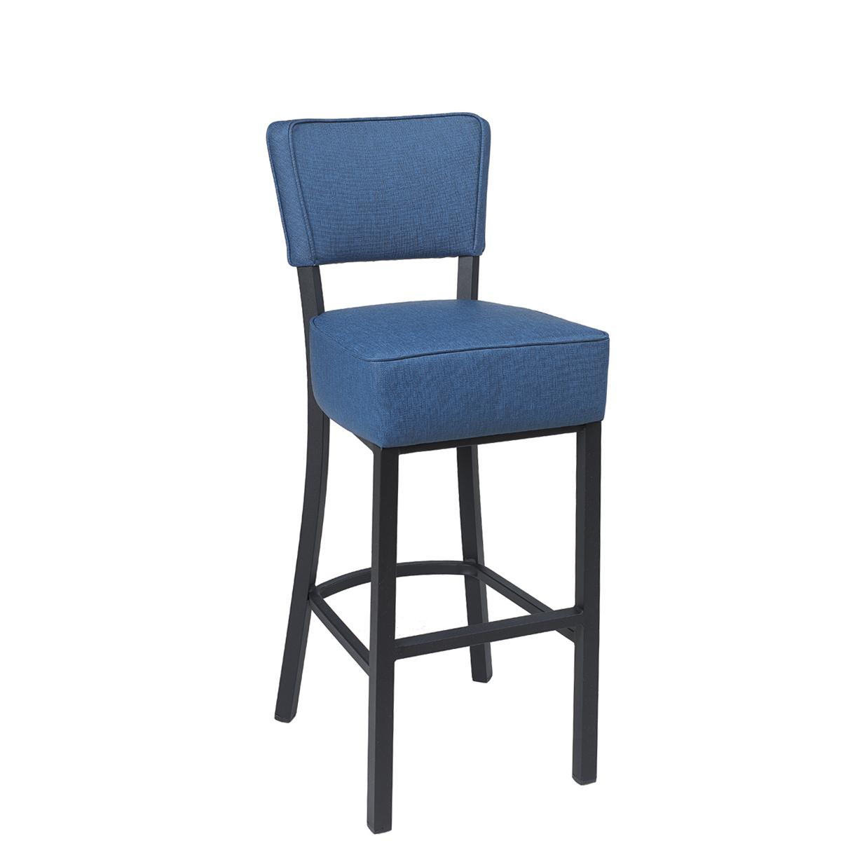 banqueta bohemia azul