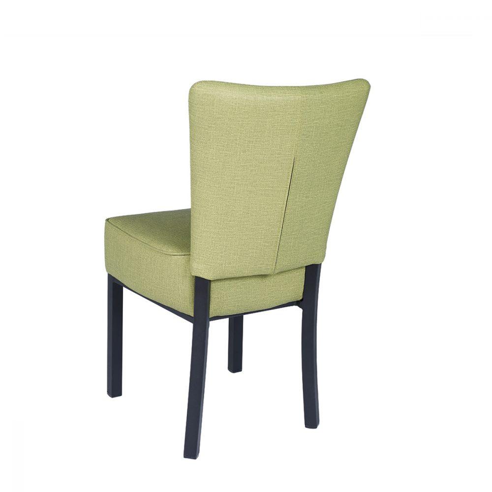 silla gran bohemia verde trasera