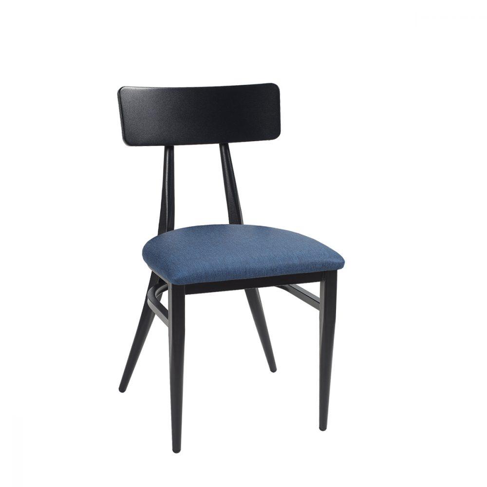 montana-silla-negro-tapizado-azul