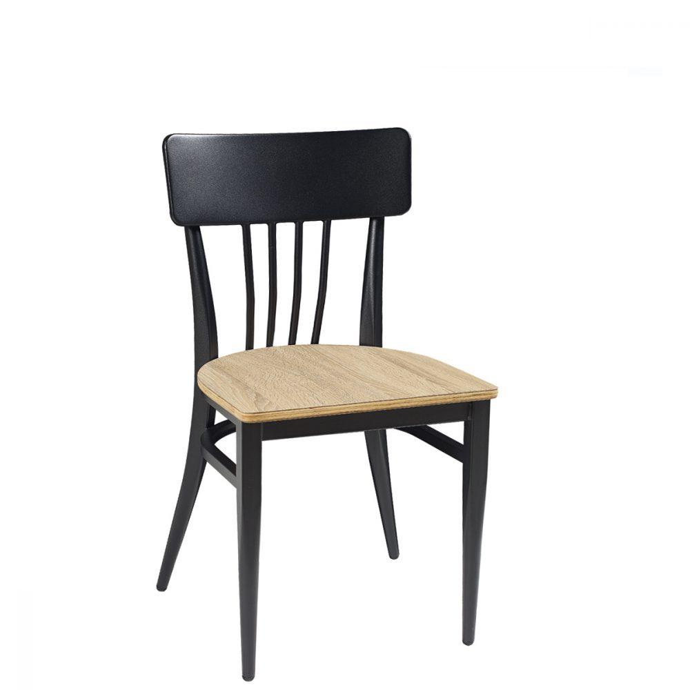 nebraska-silla-negro-laminad