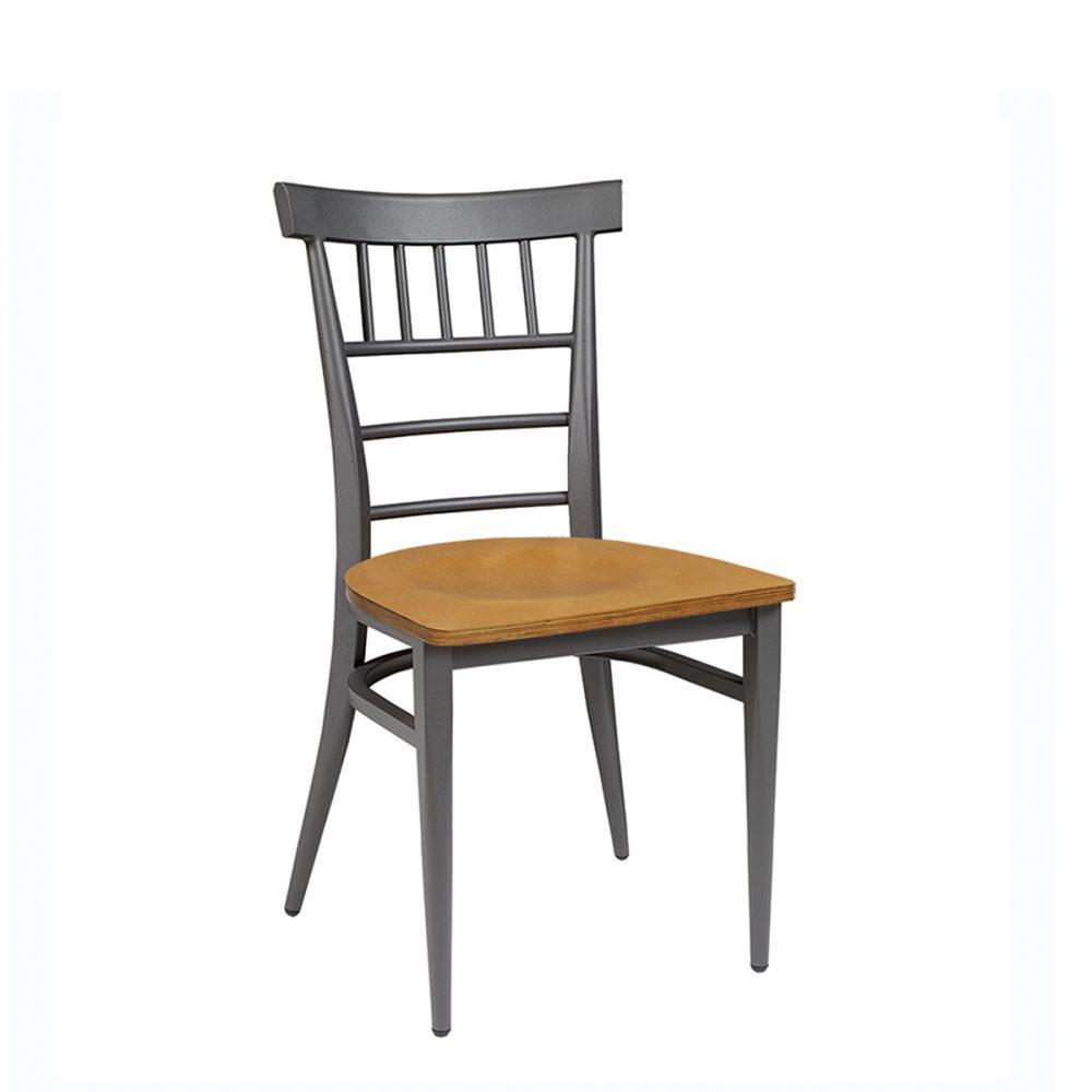 silla nevada grafito asiento laminado