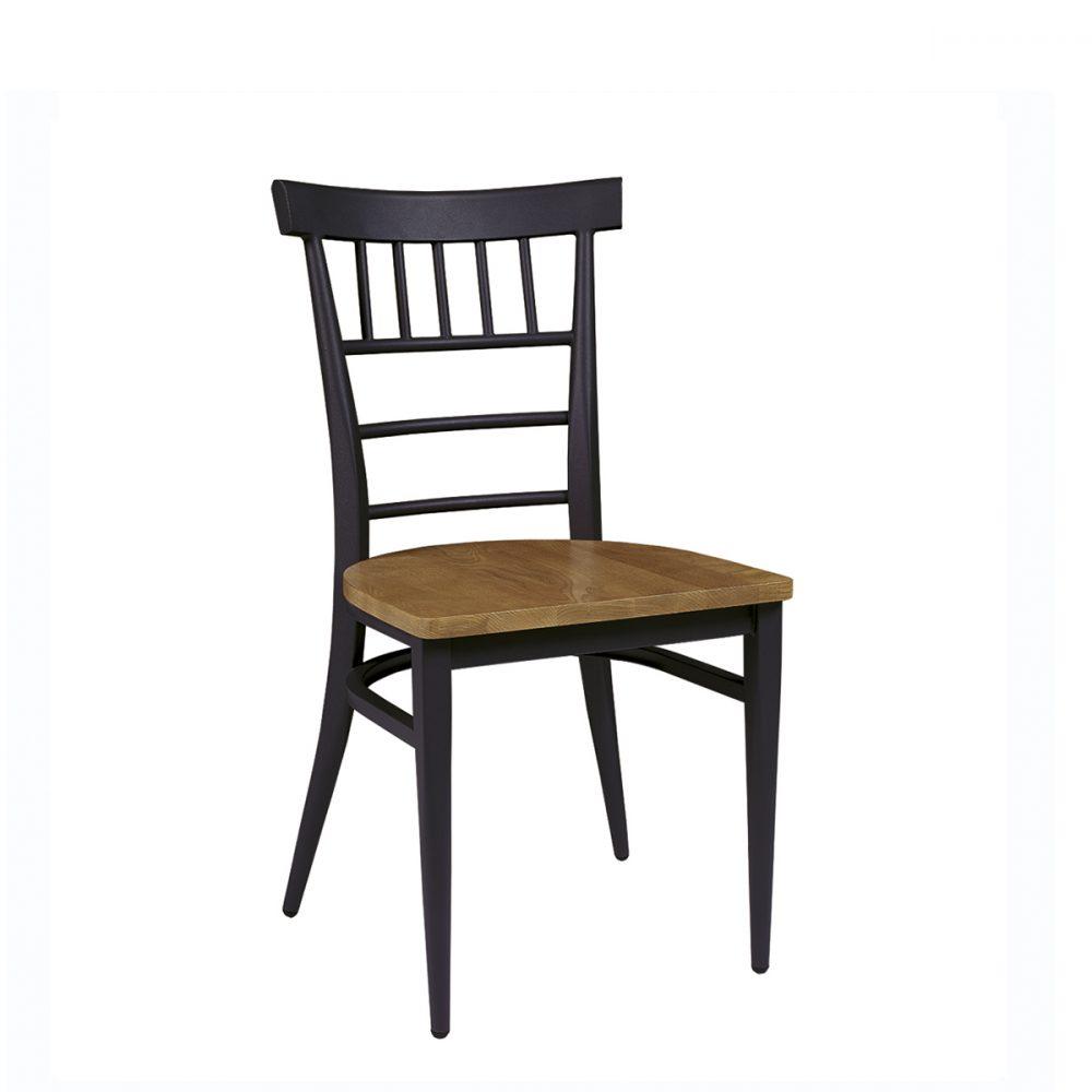 silla nevada negro asiento macizo