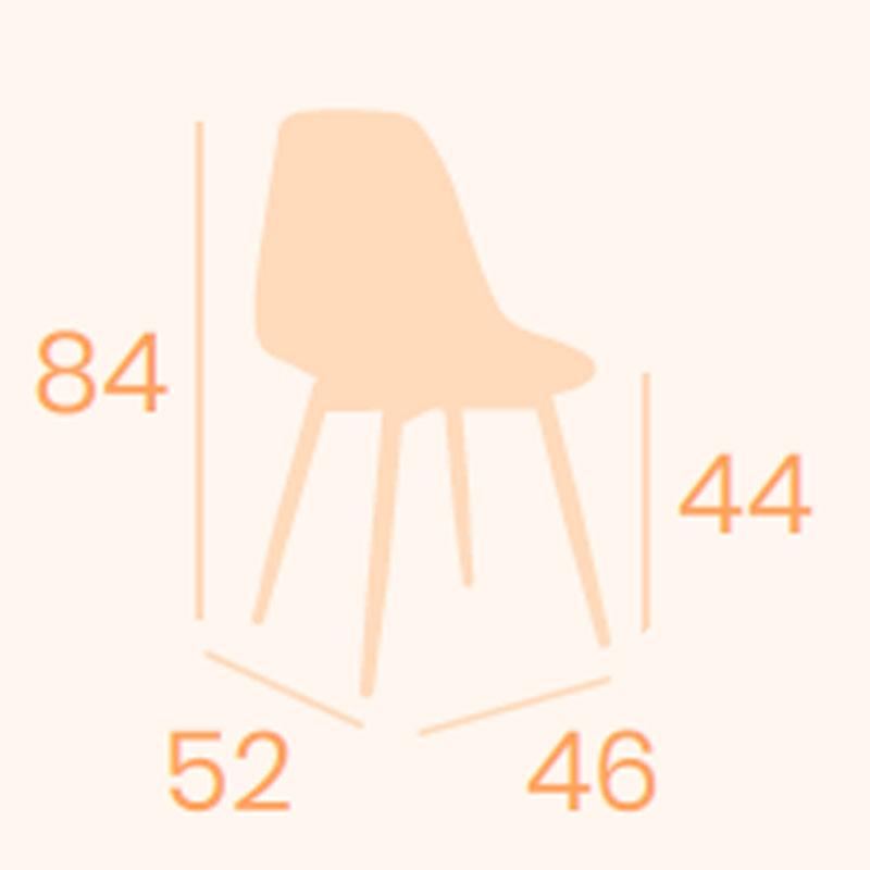 Dimensiones silla Picasso P-4 REYMA