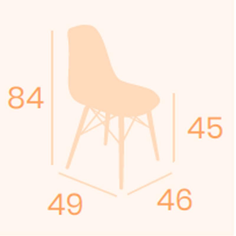 Dimensiones silla Picasso X-4 REYMA