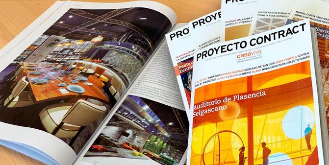 mobiliario contract proyecto escuela hostelería Granada