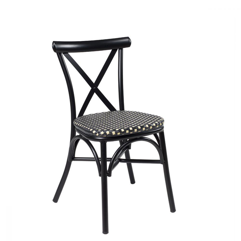 silla atico negro medula negro