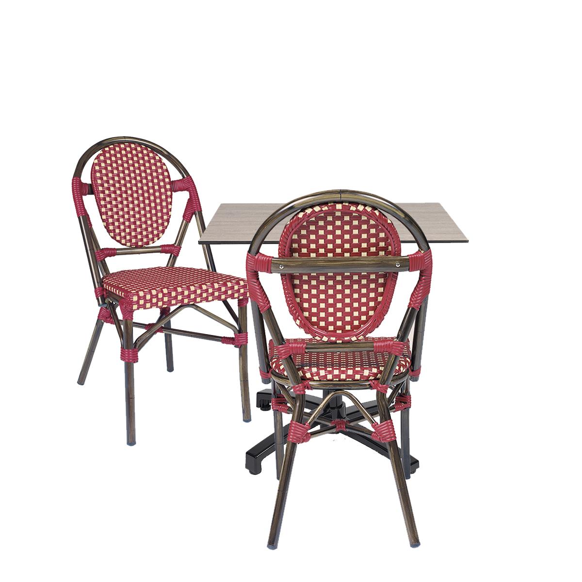 conjunto-mesa-noruega-negra-tablero-compact-con-sillas-charlotte-medula-roja