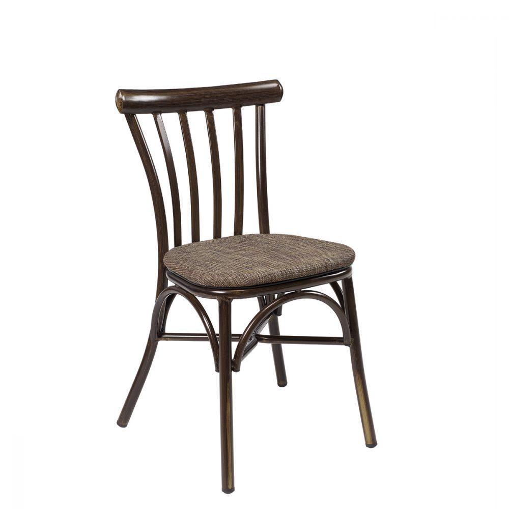 silla portico nogal textilene otoño