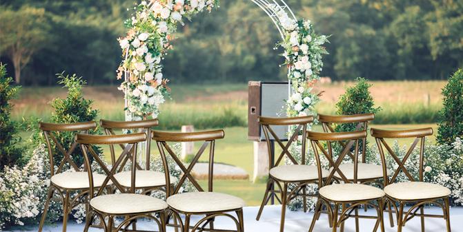 mobiliario especial bodas y eventos