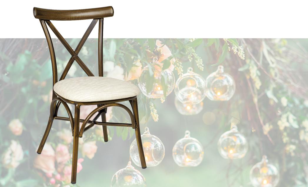 sillas serie ático para hostelería bodas y eventos