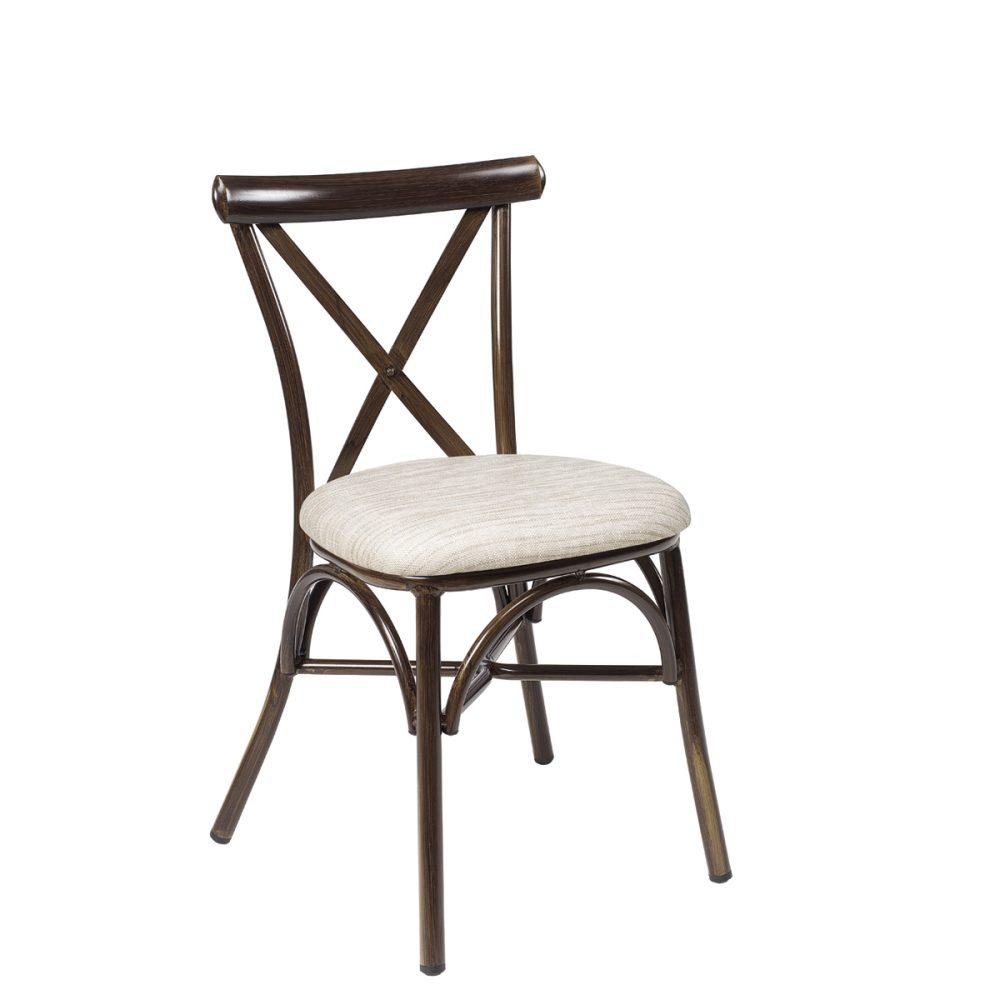 silla atico nogal tapizado indiana