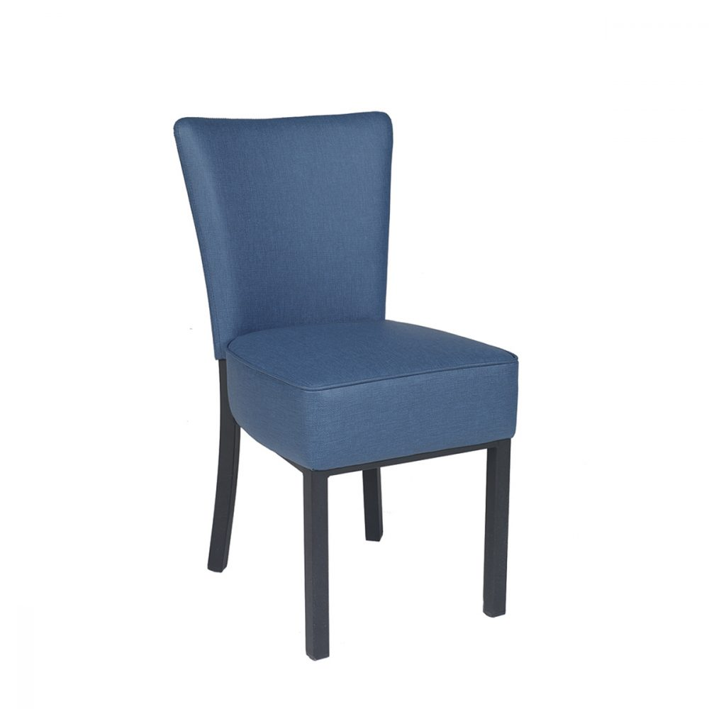 Silla gran bohemia azul