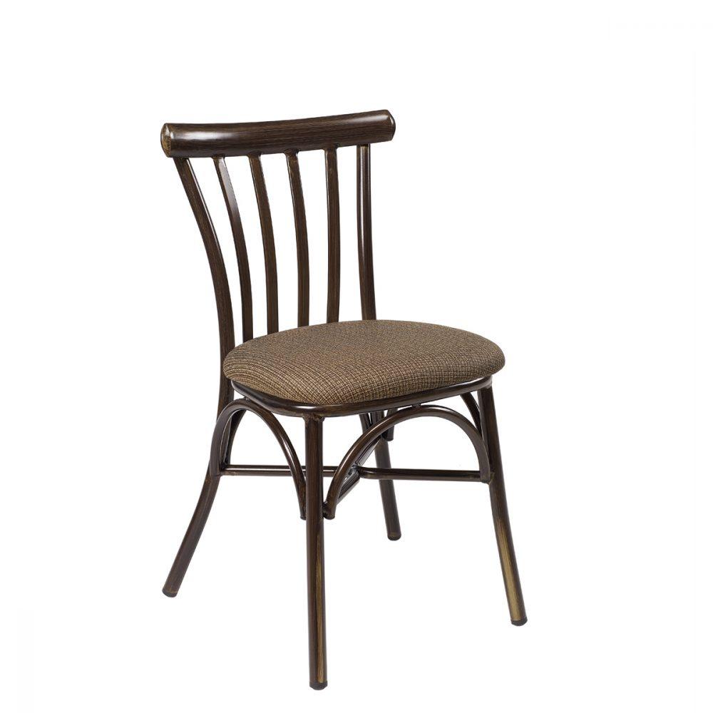 silla portico nogal tapizado panama