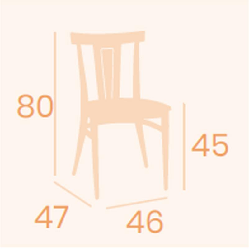 Dimensiones silla Dakota REYMA