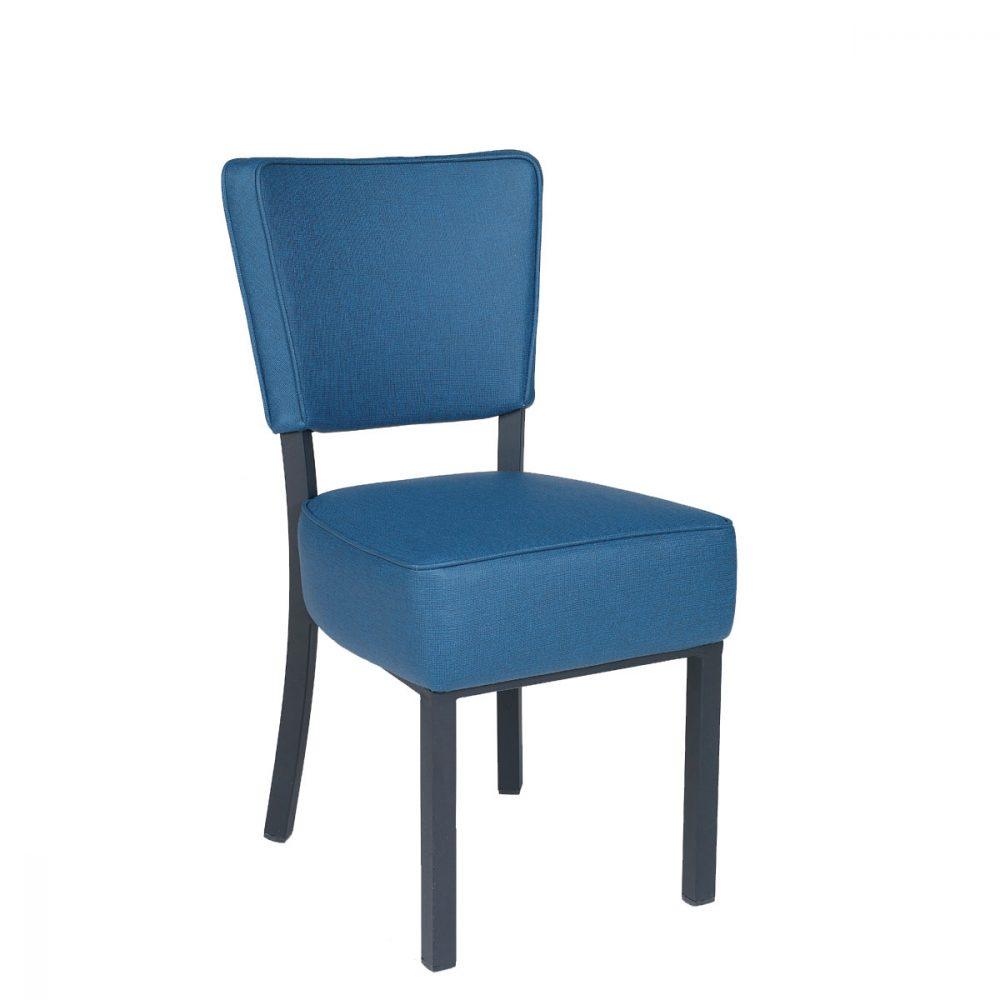Silla Bohemia tapizado Azul REYMA