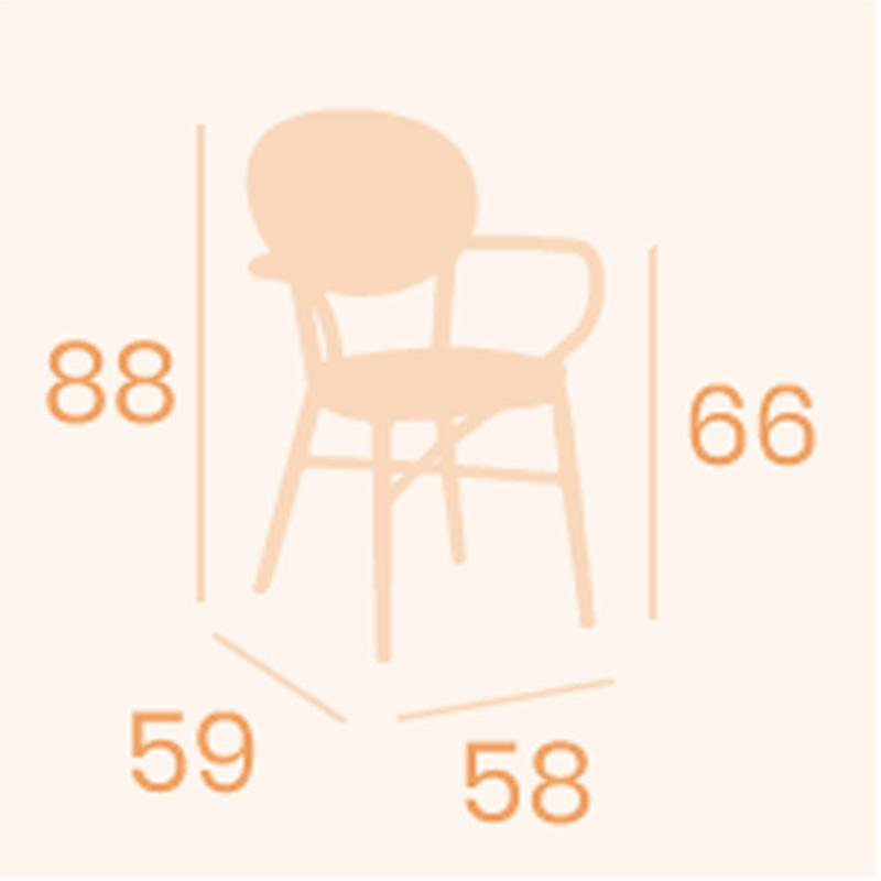 Dimensiones sillón Fontana REYMA