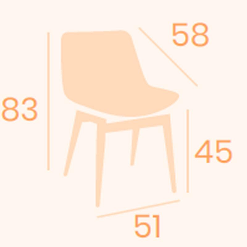 Dimensiones silla Luxemburgo REYMA