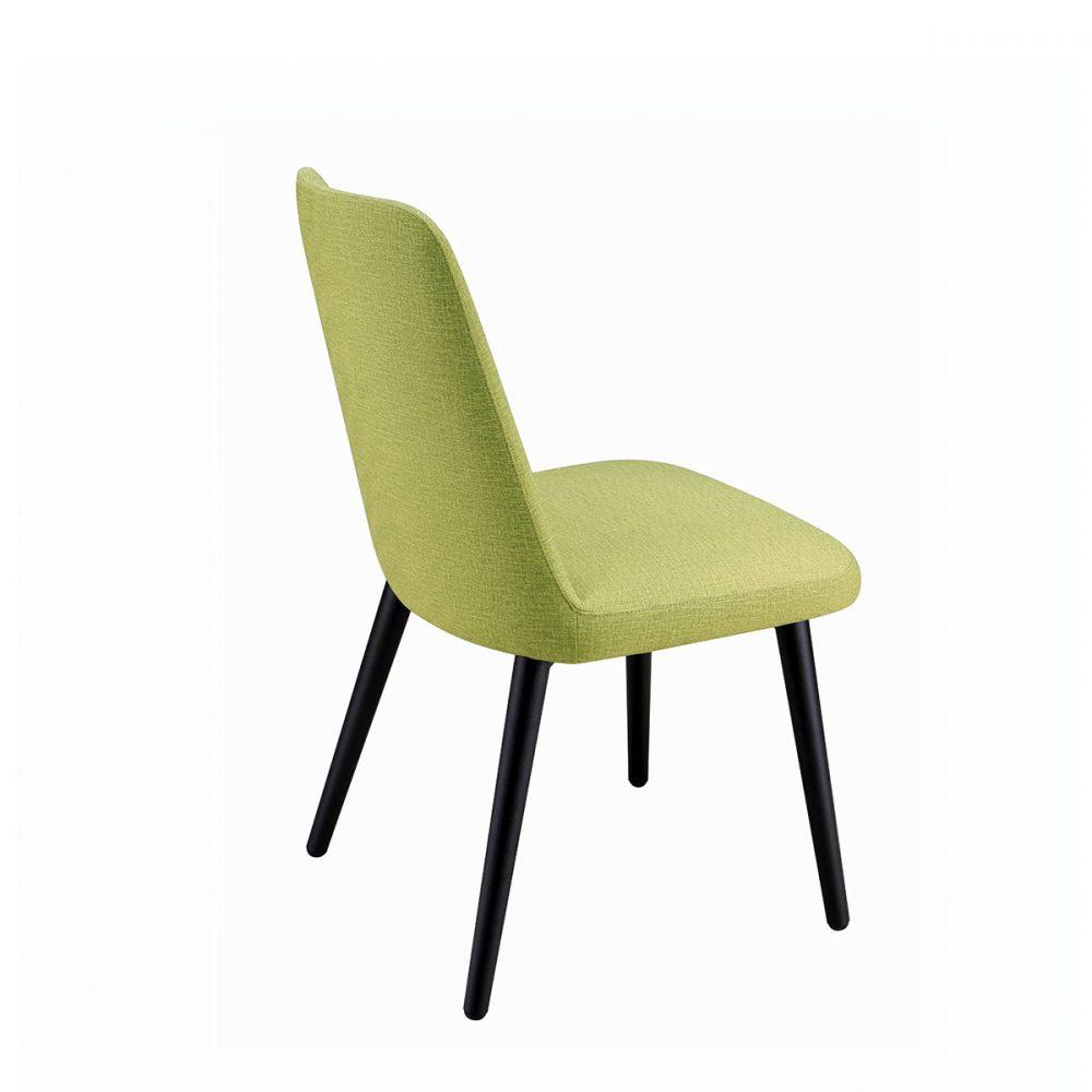 silla murano respaldo verde