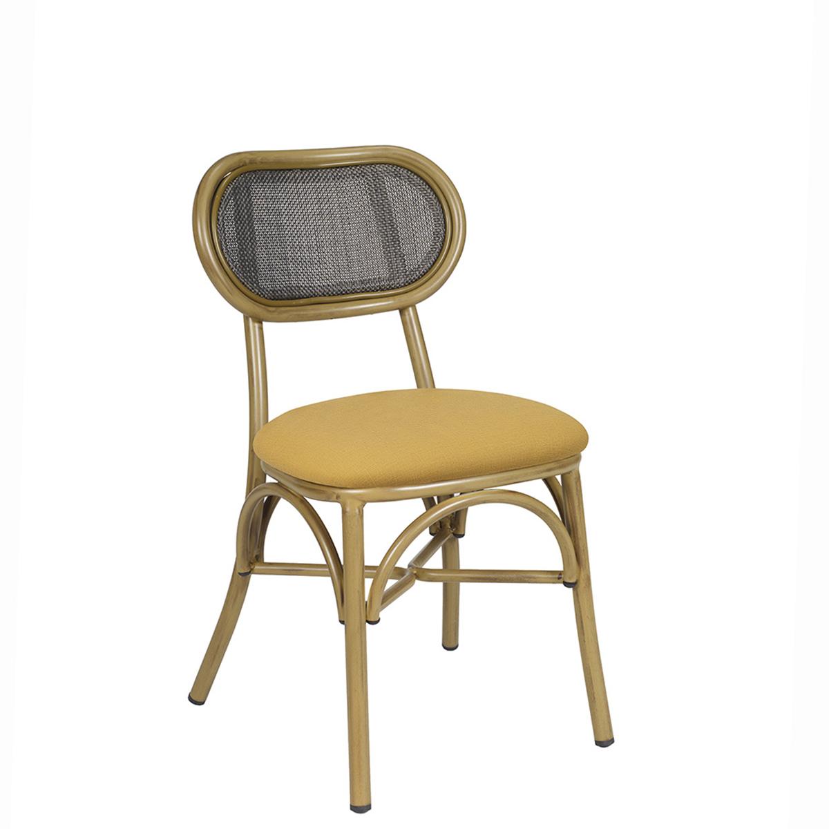 verdi-silla-deco-bambu-respaldo-negro-asiento-tapizado-mostaza