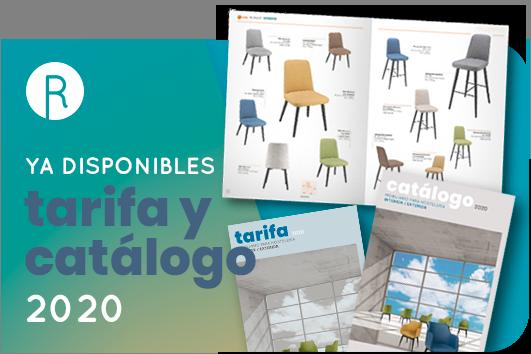 Nueva tarifa y catálogo mobiliario contract 2020