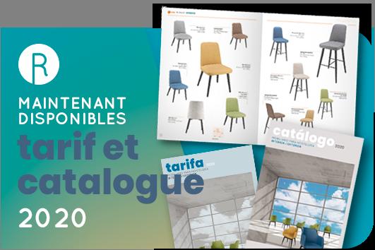 catalogue et tarif 2020 maintenant disponible