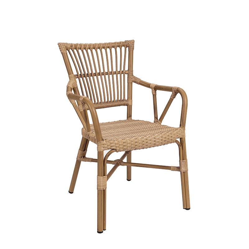 sillon polinesia deco bambu con asiento en médula atlas REYMA
