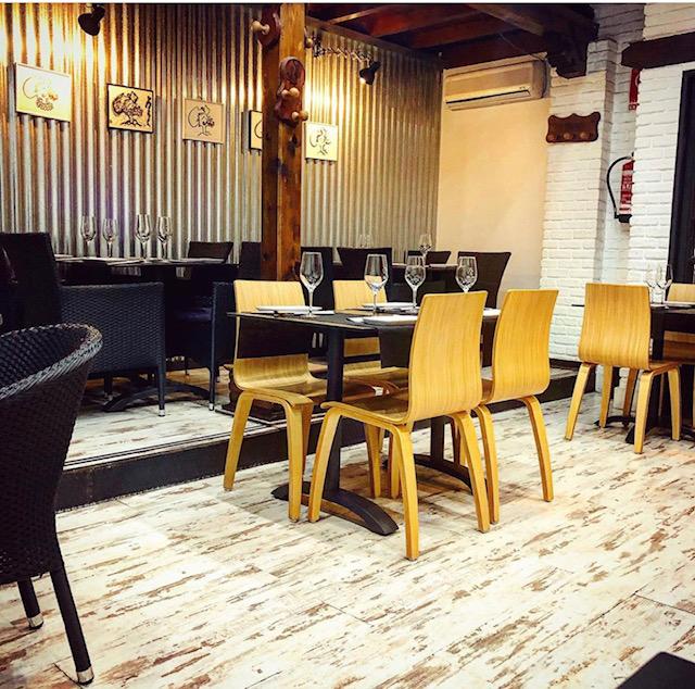instalación silla michigan con pata de madera REYMA