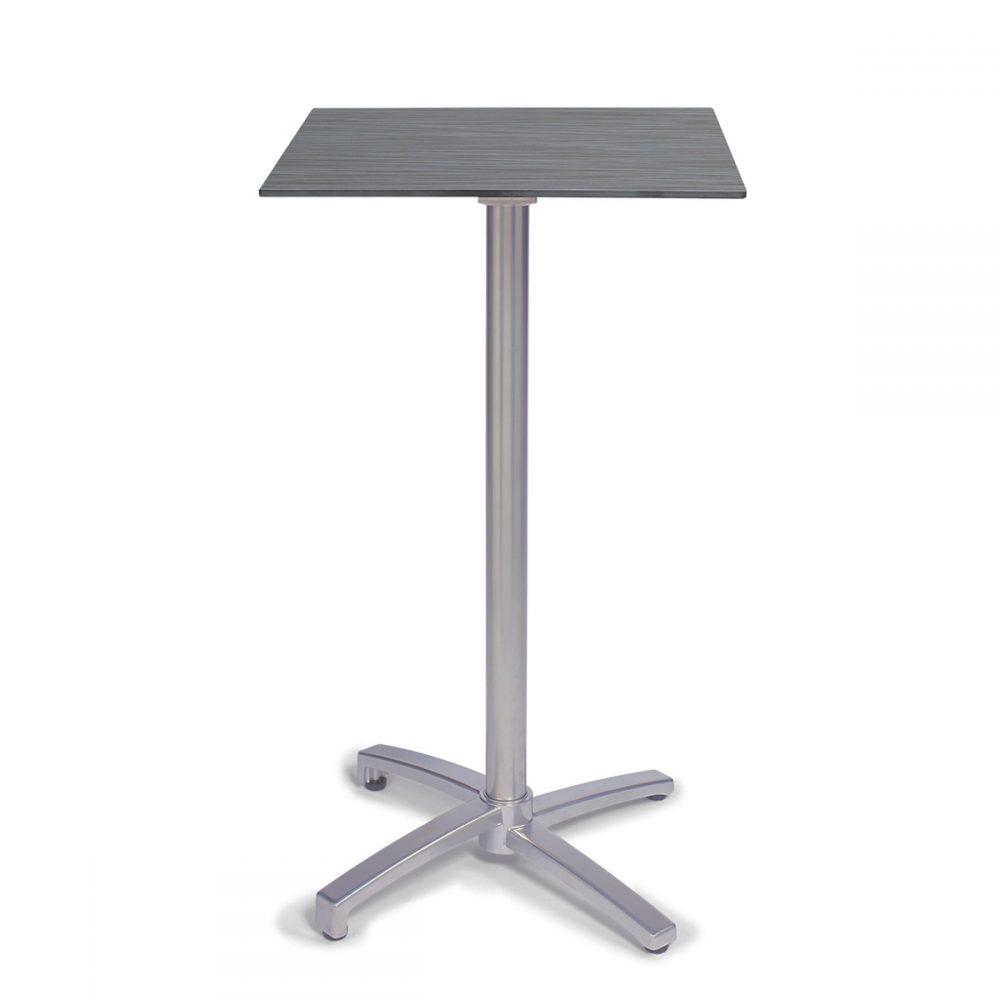 mesa noruega alta pintada gris