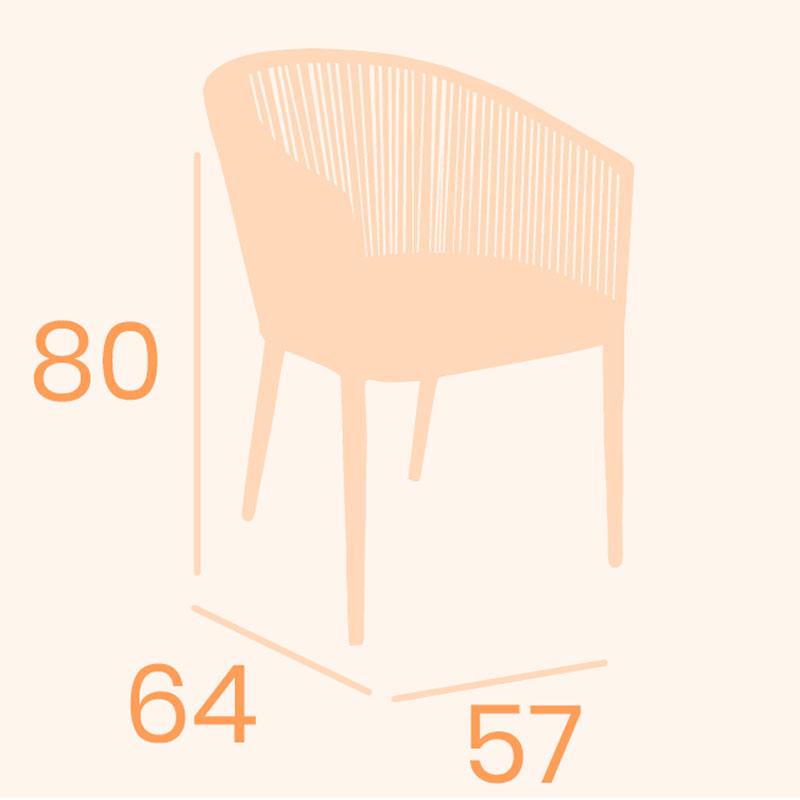 Dimensiones sillón pravia REYMA