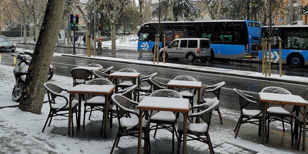 Instalación de sillones manila nevados REYMA