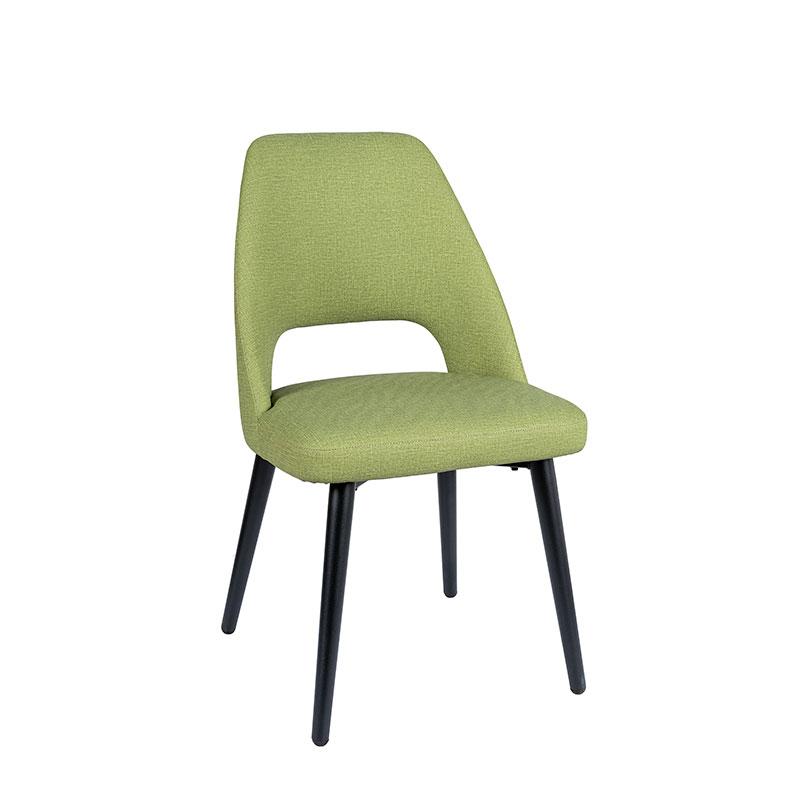 silla arona tapizado verde REYMA