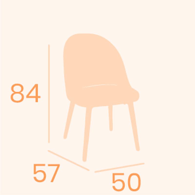 Dimensiones silla Como REYMA