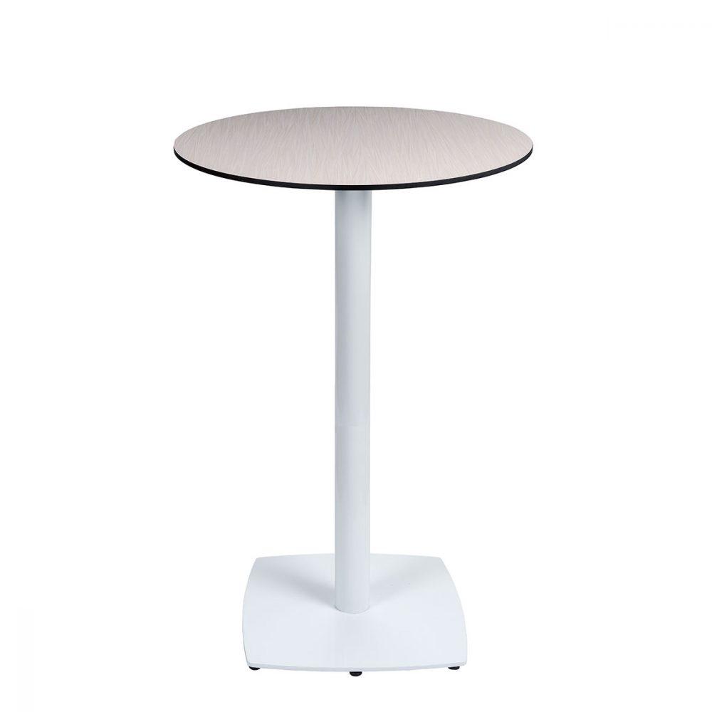 mesa hanover alta blanca con tablero compact antartia