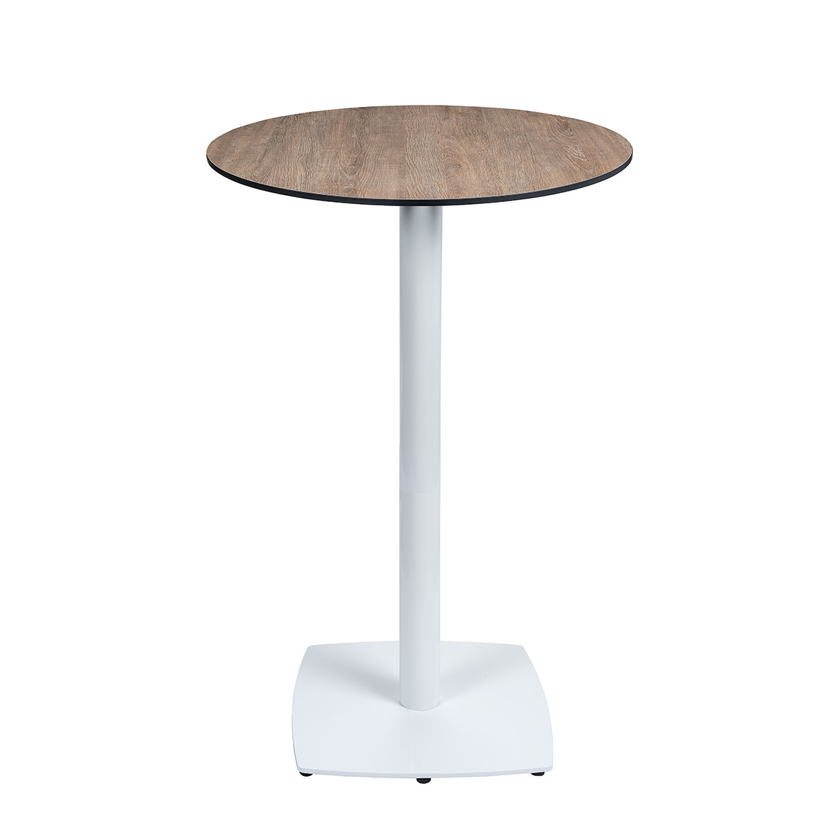 mesa hanover alta blanca con tablero pompyea REYMA