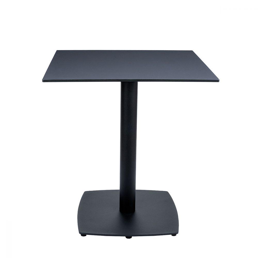 mesa hanover tablero cuadrado compact negro