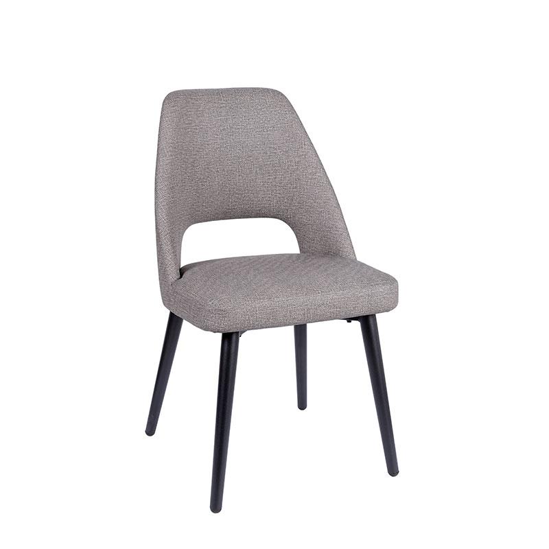 silla arona tapizado gris REYMA