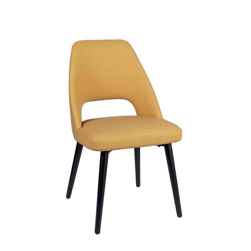 silla arona tapizado mostaza REYMA
